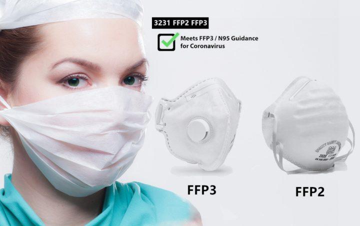 mascherina p3 n95